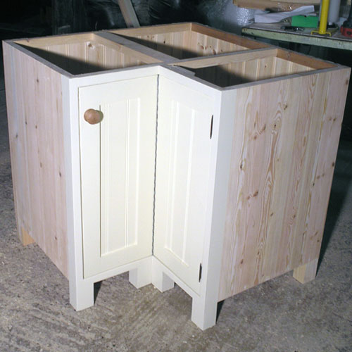 Corner Kitchen Sink Base Unit : Kitchen furniture by Black Barn Crafts, Kings Lynn, Norfolk