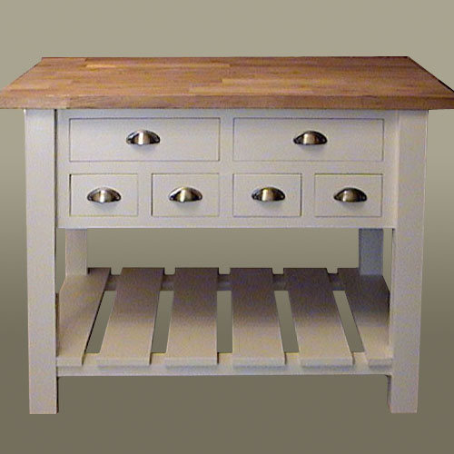 Freestanding Kitchen Island kitchen furnitureblack barn crafts, kings lynn, norfolk