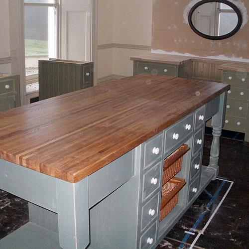 Shabby Chic Kitchen Island: Kitchen Furniture By Black Barn Crafts, Kings Lynn, Norfolk